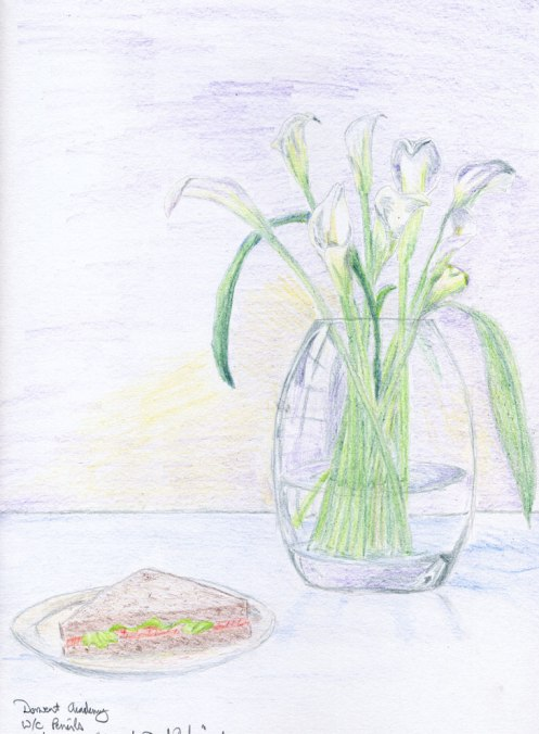 Lillies and Sandwich
