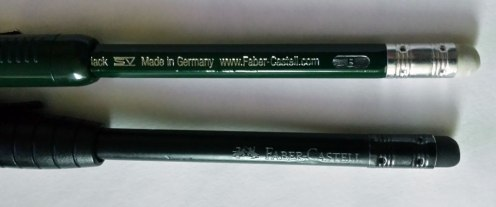 Faber Castell 9000 Perfect Pencil, and Junior Pencil